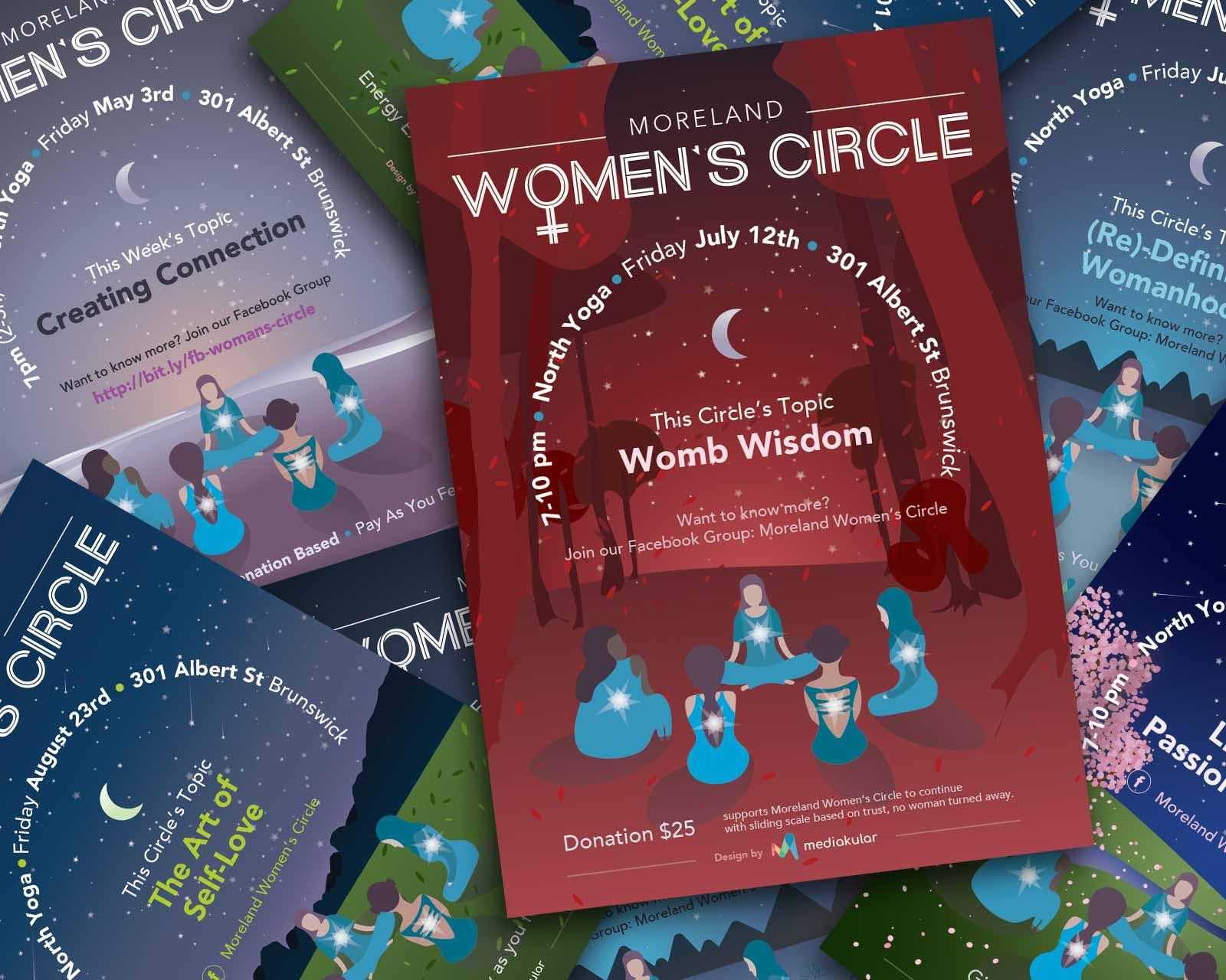 Moreland Woman's Circle Posters